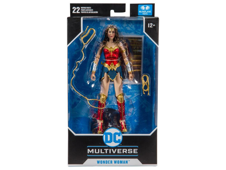 McFarlane DC Multiverse Wonder Woman 7in Action Figure
