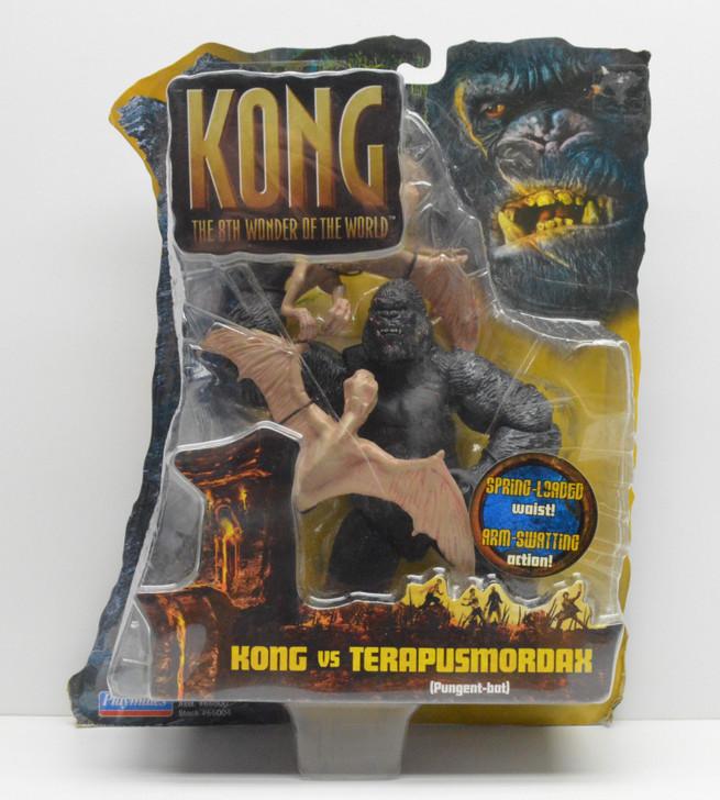 Playmates Kong Skull Island Kong vs. Terapusmordax action figure