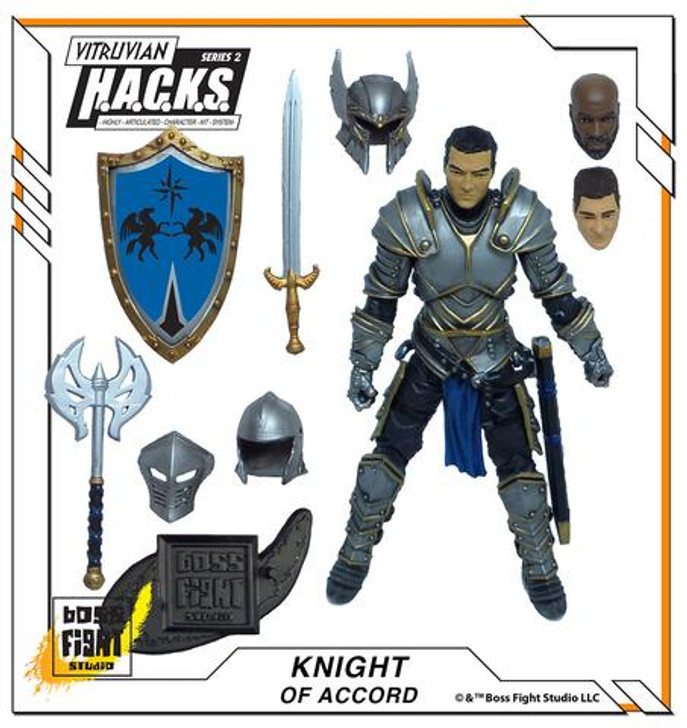 Vitruvan H.A.C.K.S. Knight of Accord Action Figure