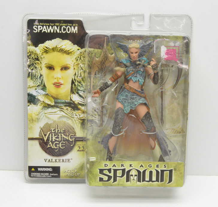 McFarlane Spawn Series 22 Dark Ages Valkerie