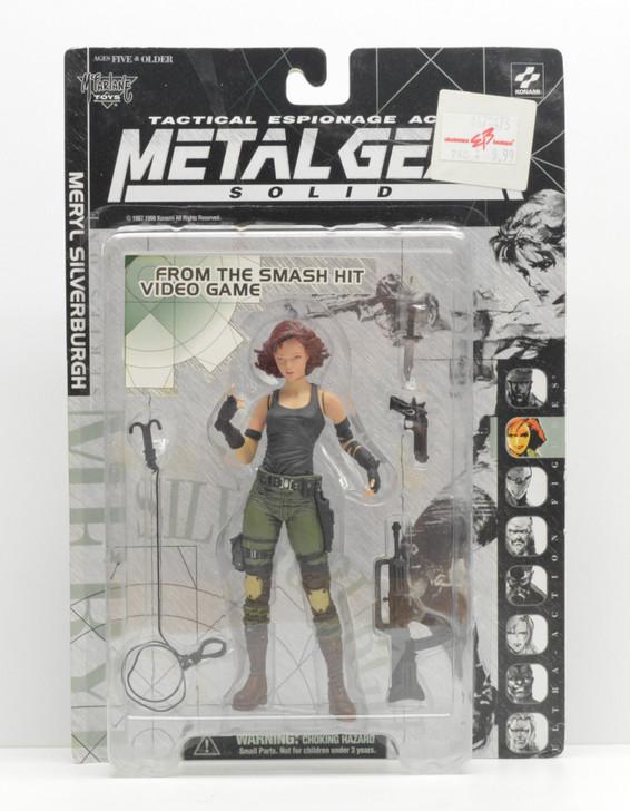 McFarlane Metal Gear Solid Meryl Silverburgh Action Figure