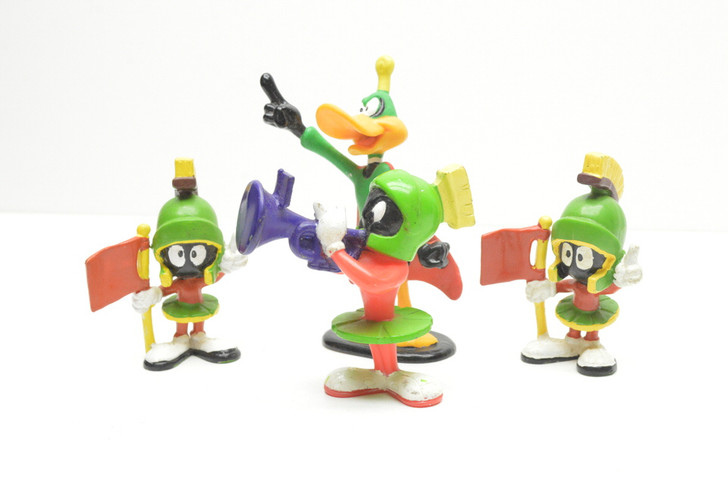 Applause Duck Dodgers and Marvin the Martian figure lot
