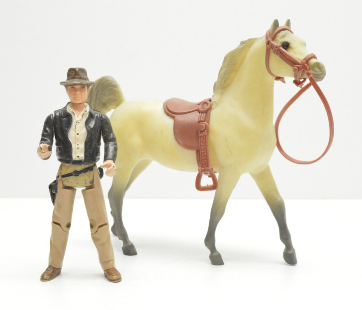 Kenner 1982 Indiana Jones Action Figure with horse