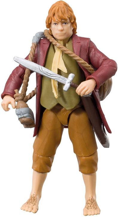 "Bridge Direct The Hobbit Bilbo Baggins An Unexpected Journey 3.75"" Figure"