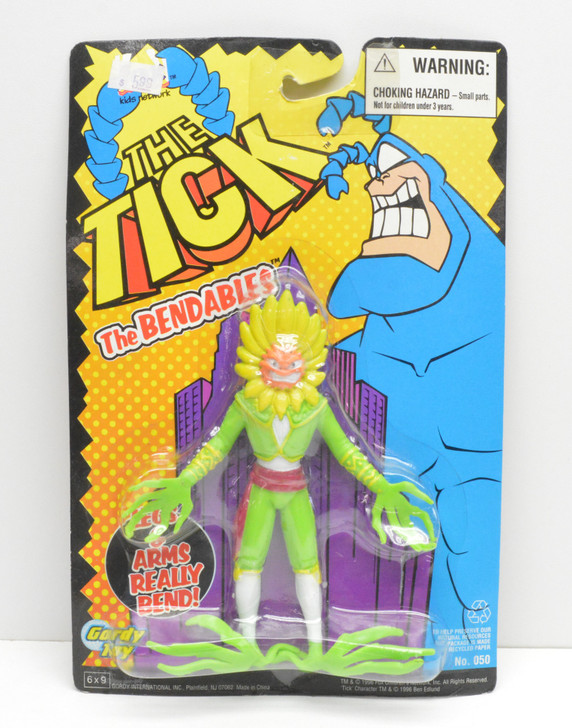 Gordy Toy The Tick El Seed Bendy Action Figure