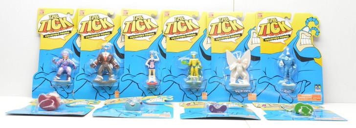 Bandai The Tick 10 Collectible Figure set