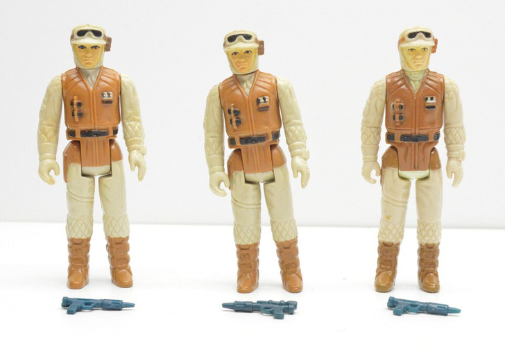 Kenner 1981 Star Wars Hoth Rebel Soldier action figure Army builder set