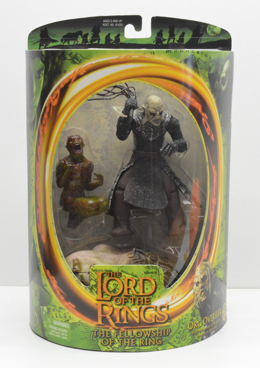 ToyBiz Lord of the Rings Orc Overseer Action Figure