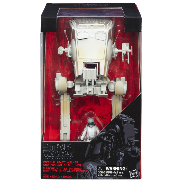 Hasbro Star Wars The Black Series At-St Walker with At-St Driver