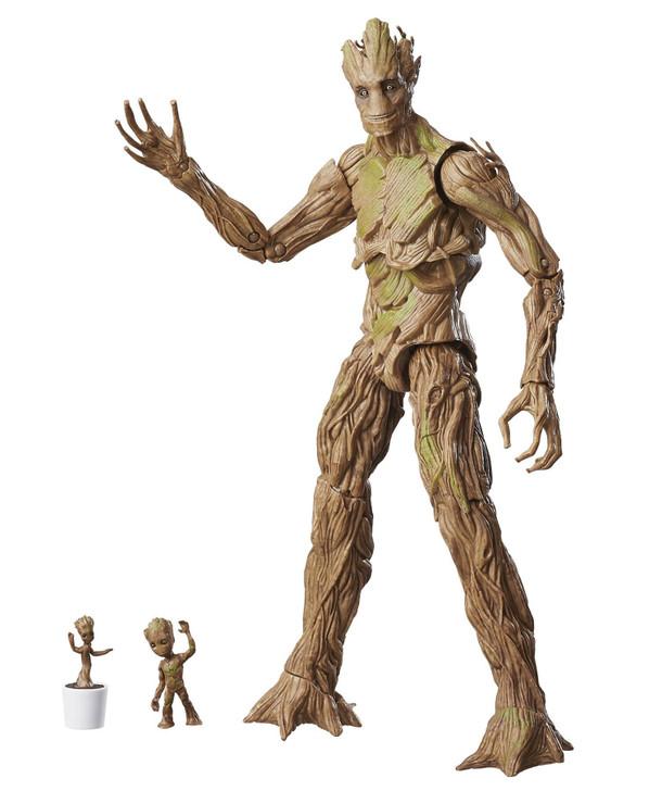 Hasbro Marvel Legends Groot Evolution Action Figure 3 pack