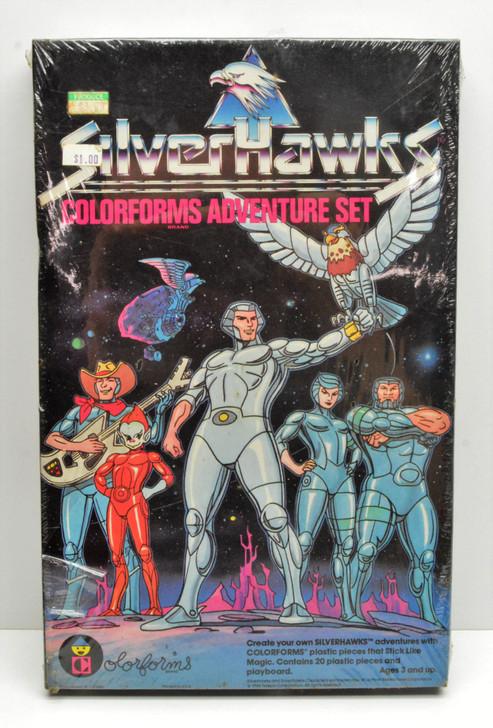 Colorforms (1986) SilverHawks adventure set