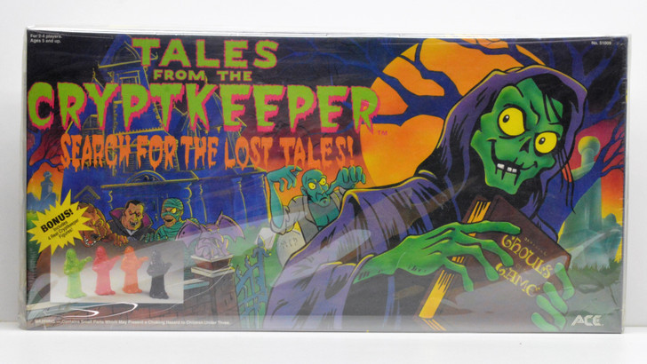 Ace (1994) Tales from the Cryptkeeper Board Game