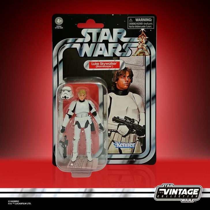 Hasbro Star Wars The Vintage Collection Luke Stormtrooper action figure