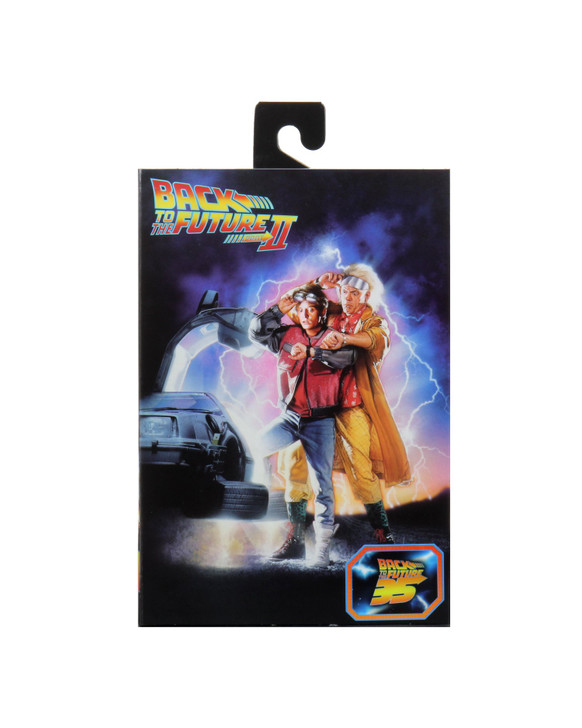 "Back to the Future 2 Ultimate Space Marty McFly 7/"" NECA Tales From Space Figure"
