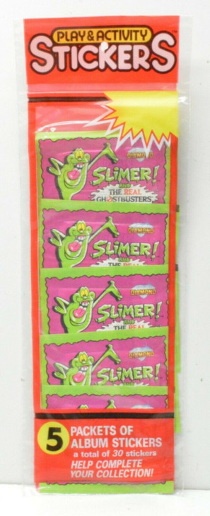 Diamond (1988) SLIMER and the real GHOSTBUSTERS Play & Activity Stickers