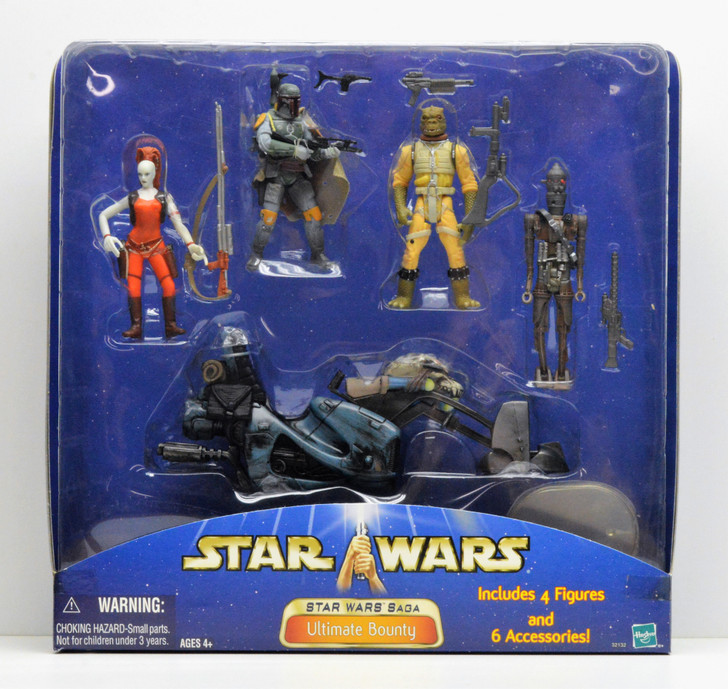 Hasbro Star Wars Ultimate Bounty Action Figure 4 pack