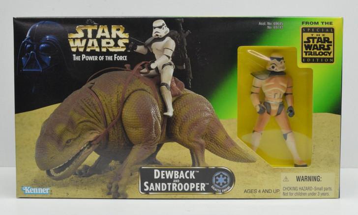 Kenner Star Wars Dewback and Sand Trooper Action Figure