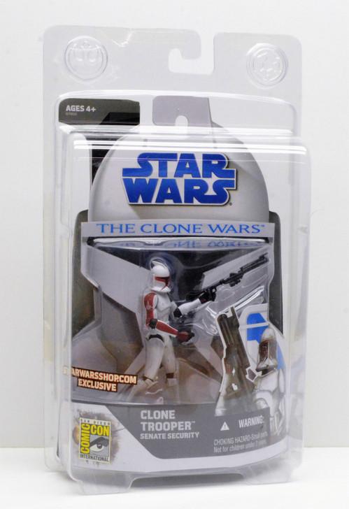 Hasbro Star Wars Clone Trooper Senate Security 2008 SDCC Exclusive