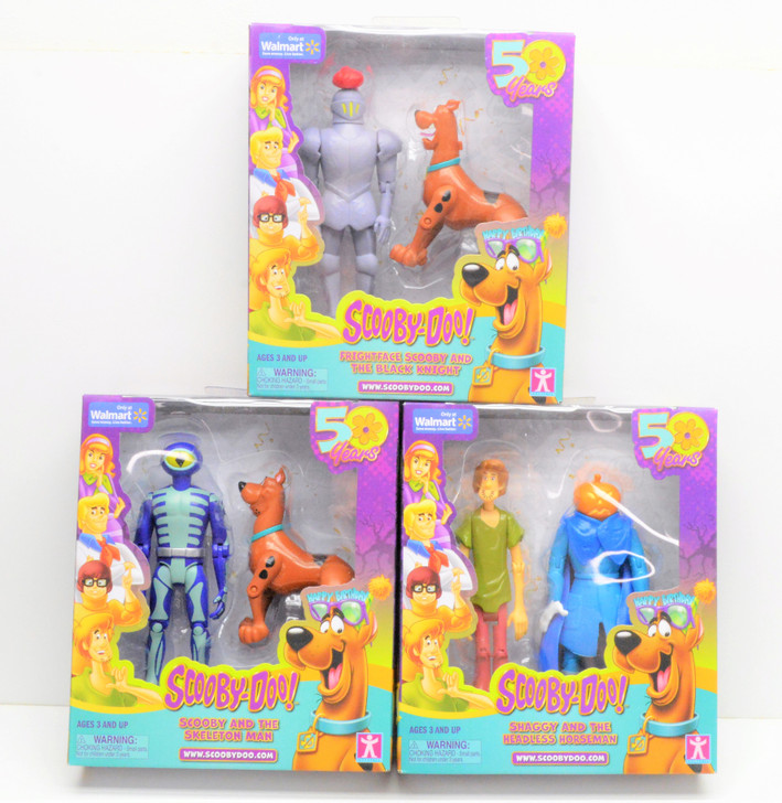 Character Ltd.Scooby-Doo 50th anniversary action figure set
