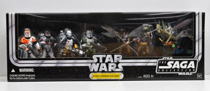 Hasbro Star Wars Republic Commando Delta Squad action figure exclusive