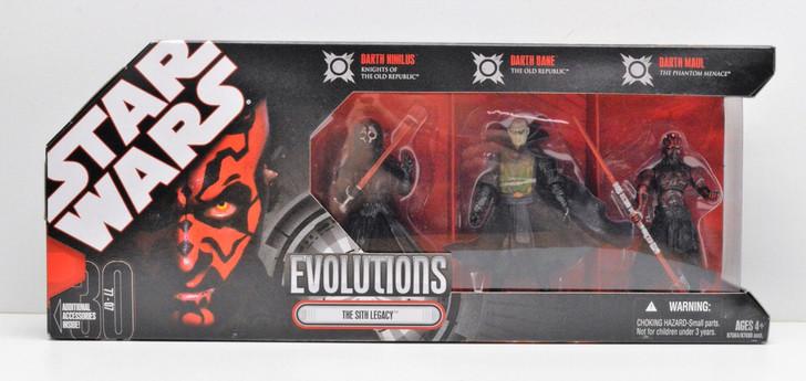 Hasbro Star Wars Evolutions The Sith Legacy
