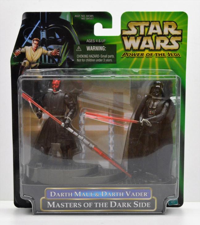Hasbro Star Wars Masters of the Dark Side Maul vs. Vader
