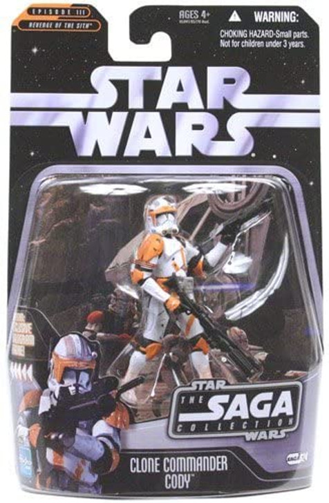 Hasbro Star Wars Clone Commander Cody Saga #024 action figure
