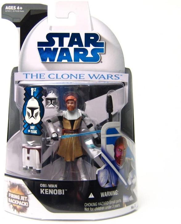 Hasbro Star Wars Clone Wars Obi-Wan Kenobi Action Figure