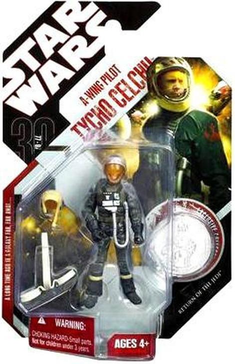 Hasbro Star Wars A-Wing Pilot Tycho Celchu Action Figure