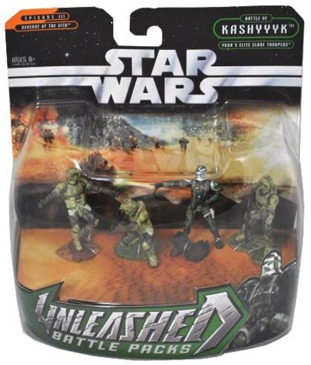 Hasbro Star Wars Unleashed Battle Packs Yoda's Elite Clone Troopers
