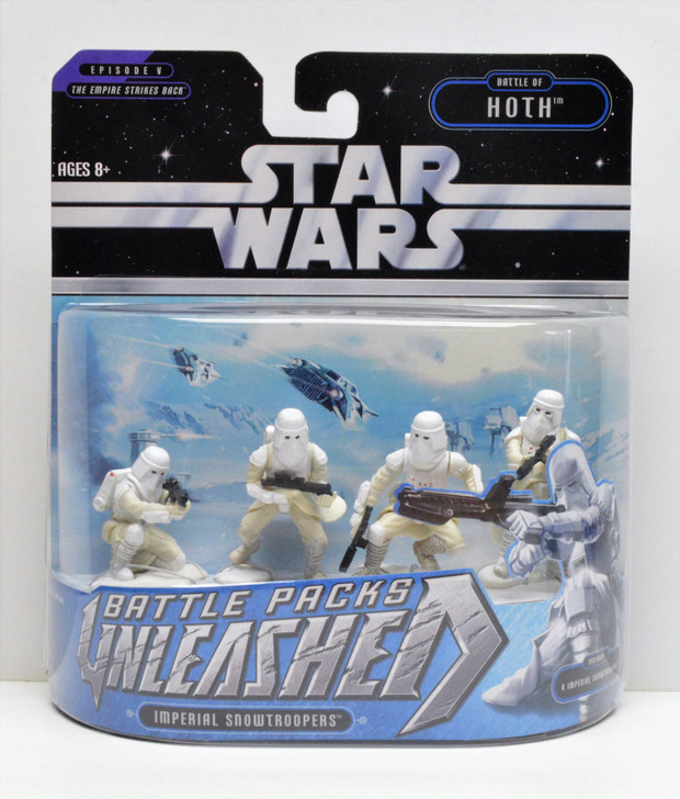 Hasbro Star Wars Unleashed Battle Packs Imperial Snowtroopers