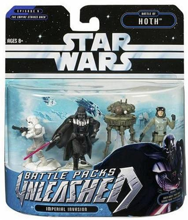 Hasbro Star Wars Unleashed Battle Packs Imperial Invasion