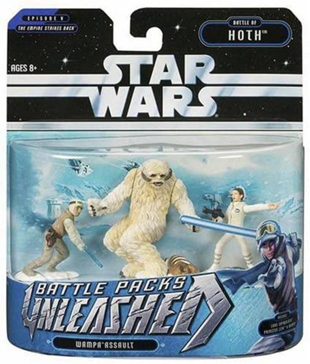 Hasbro Star Wars Unleashed Battle Packs Wampa Assault