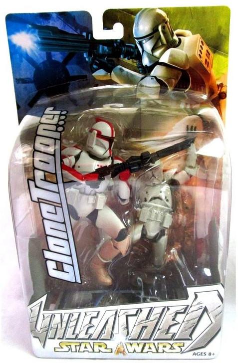 Hasbro Star Wars Unleashed Clone Trooper (Red Stripe)