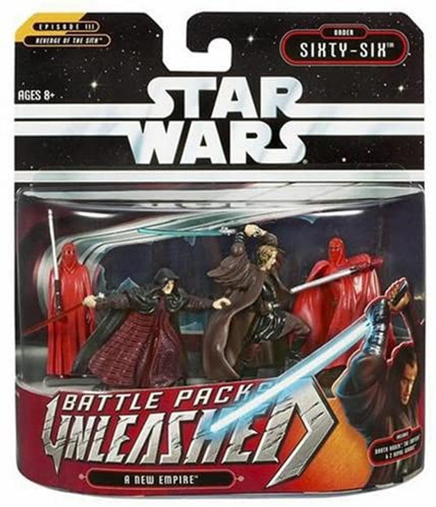 Hasbro Star Wars Unleashed Battle Packs A New Empire