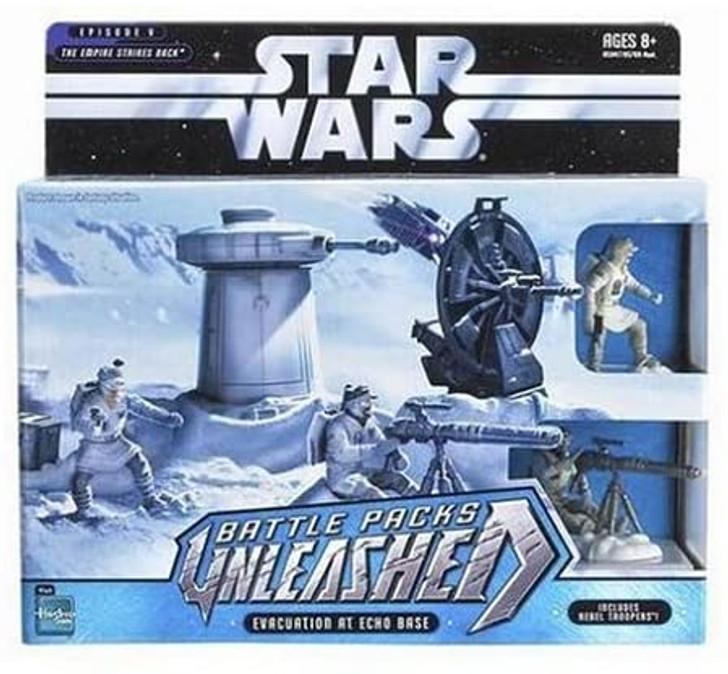 Hasbro Star Wars Unleashed Battle Packs Evacuation at Echo Base