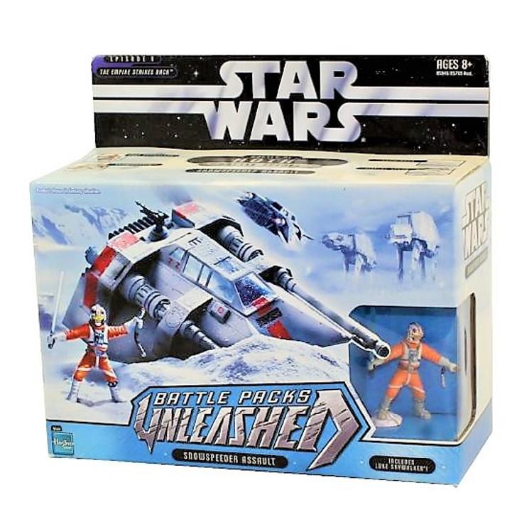 Hasbro Star Wars Unleashed Battle Packs Snowspeeder Assault