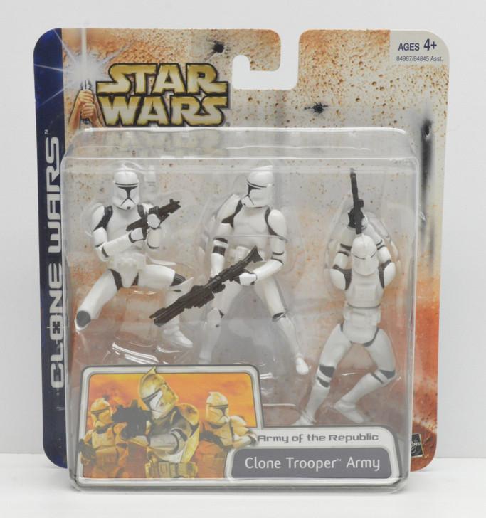 Hasbro Star Wars Clone Wars Clone Trooper Army