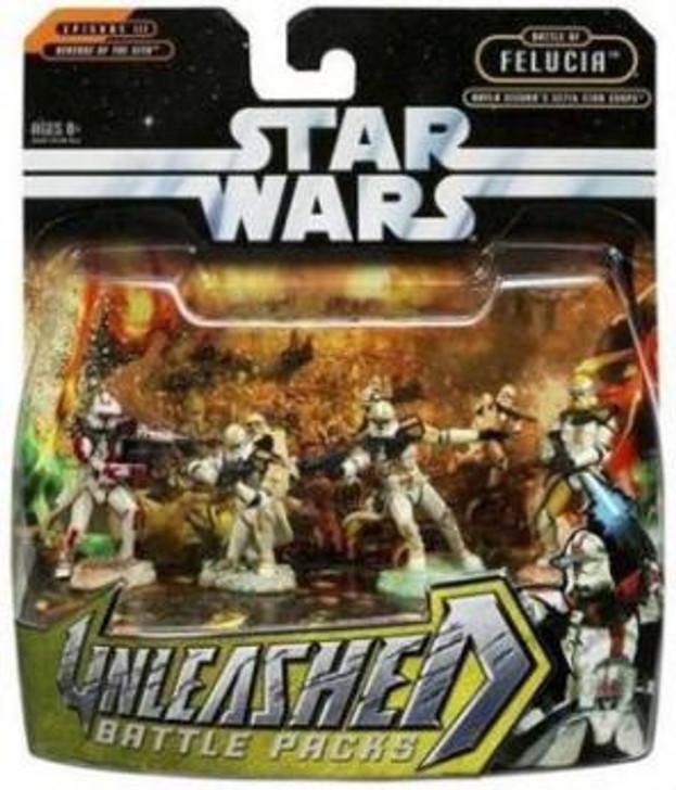 Hasbro Star Wars Unleashed Battle Packs Aayla Secura's 327th Star Corps
