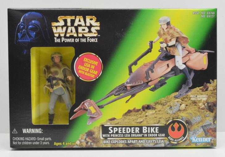 Kenner Star Wars Speeder Bike with Leia in Endor gear