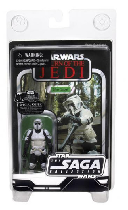 Hasbro Star Wars The Saga Collection Biker Scout Action Figure