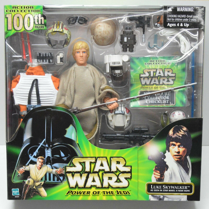 Hasbro Star Wars Action Collection Luke Skywalker (100th) 12in Action Figure