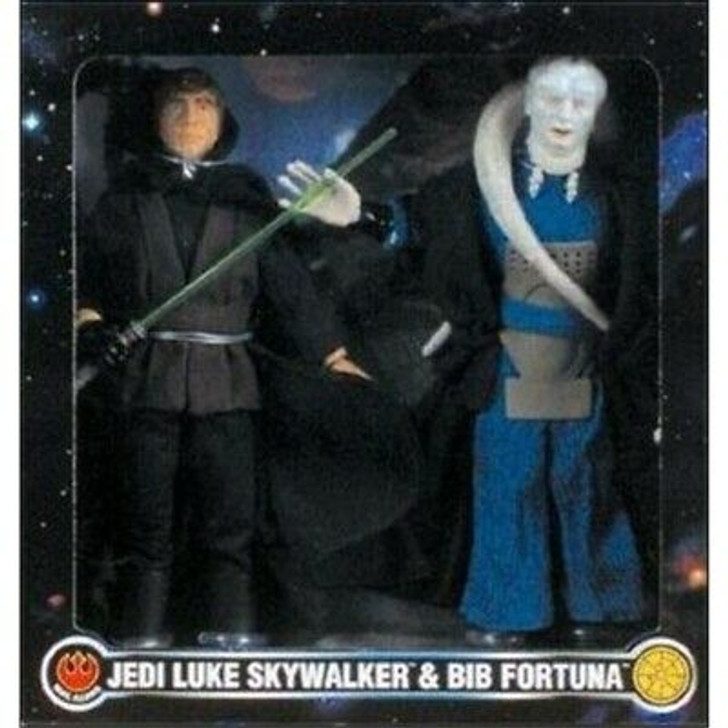 Kenner Star Wars Action Collection Luke and Bib Fortuna 12in Figure Set