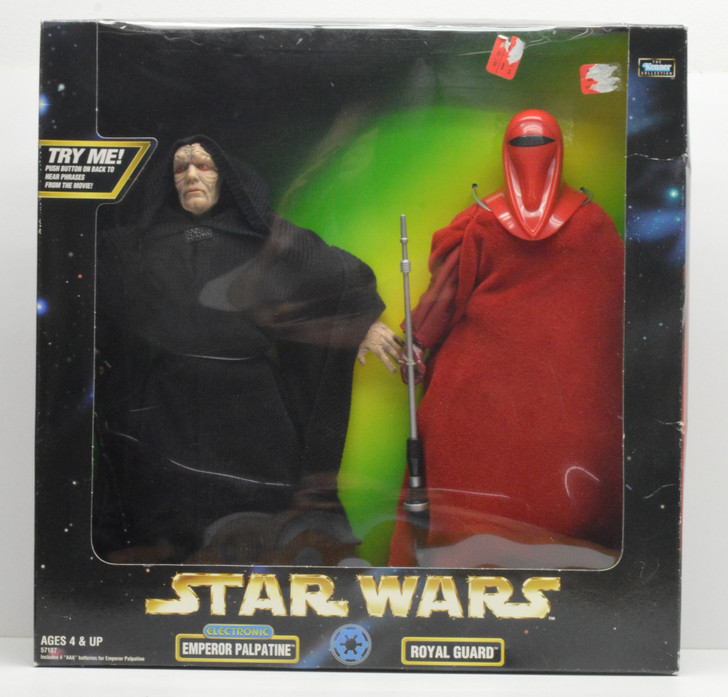Kenner Star Wars Action Collection Emperor and Royal Guard 12in Figure Set
