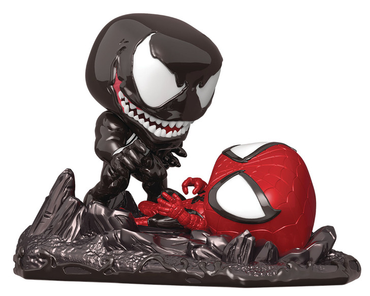 Funko POP! Comic Moment Spider-Man vs. Venom PX