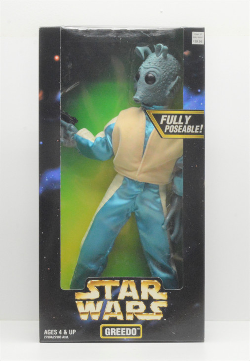Kenner Star Wars Action Collection Greedo 12in Action Figure