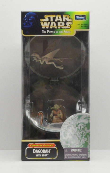 Kenner Star Wars POTF Complete Galaxy Dagobah with Yoda Action Figure