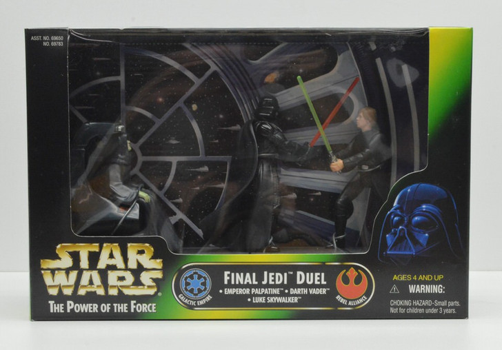 Kenner Star Wars Cinema Scenes Final Jedi Duel