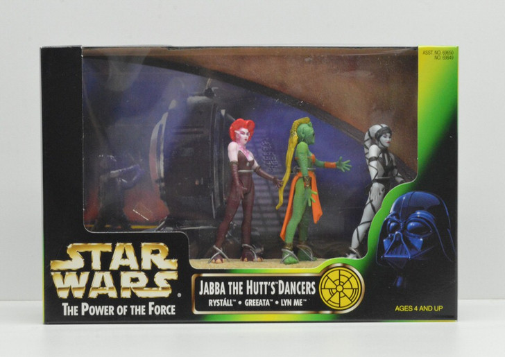 Kenner Star Wars Cinema Scenes Jabba the Hutt's Dancers