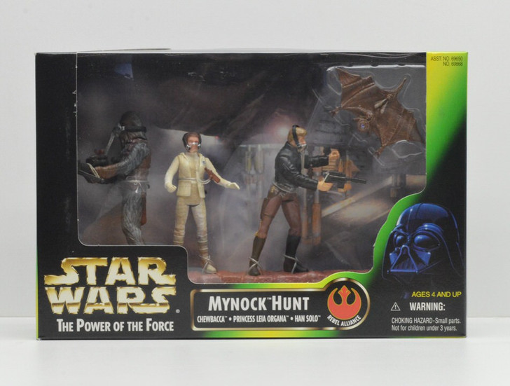 Kenner Star Wars Cinema Scenes Mynock Hunt
